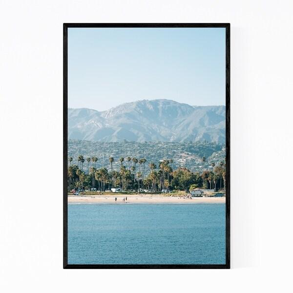 Noir Gallery Santa Barbara Coastal California Framed Art Print
