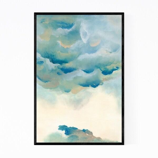 Noir Gallery Abstract Modern Acrylic Painting Framed Art Print