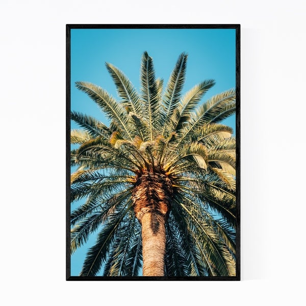 Noir Gallery Palm Tree Coastal California Beach Framed Art Print