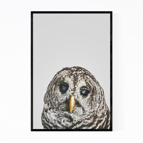 Noir Gallery Owl Kid's Room Animal Portrait Framed Art Print