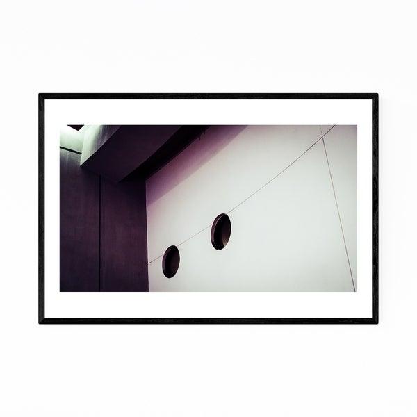 Noir Gallery Kowloon Hong Kong Abstract Photography Framed Art Print