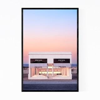Noir Gallery Prada Marfa Fashion Desert Framed Art Print