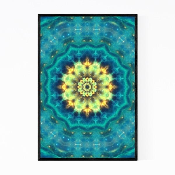 Noir Gallery Mandala Pattern Abstract Framed Art Print