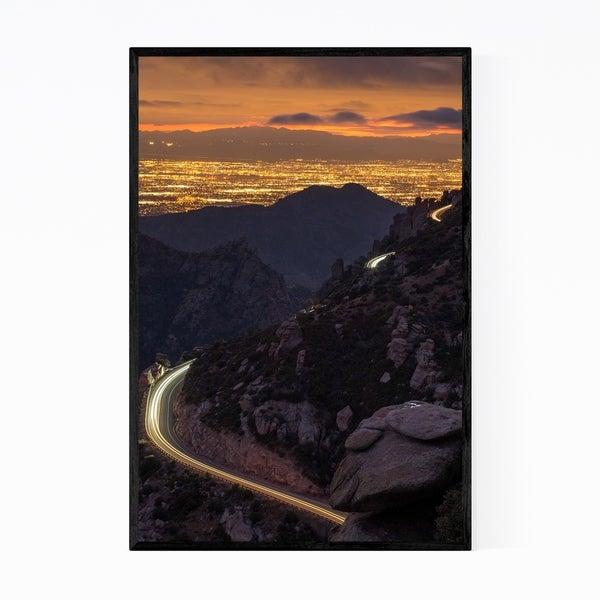 Noir Gallery Mount Lemmon Tucson Arizona Photo Framed Art Print