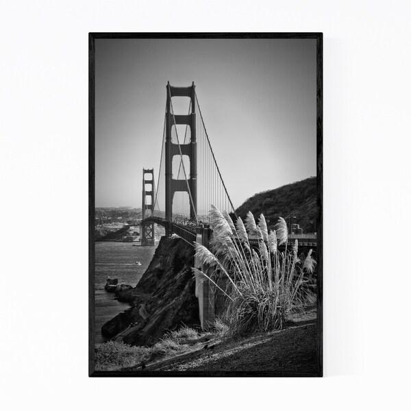 Noir Gallery Golden Gate Bridge San Francisco Framed Art Print