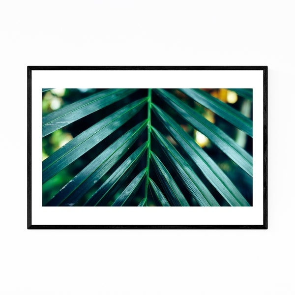 Noir Gallery Floral Botanical Abstract Framed Art Print