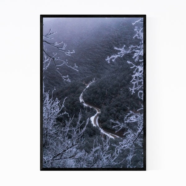 Noir Gallery Santa Rita Mountains Arizona Framed Art Print