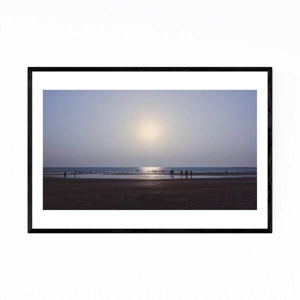 Noir Gallery Goa India Beach Coastal Ocean Framed Art Print
