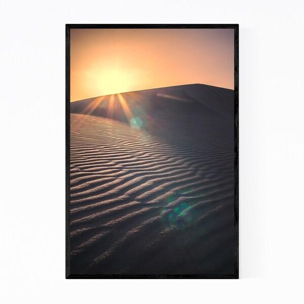 Noir Gallery White Sands New Mexico Photo Framed Art Print