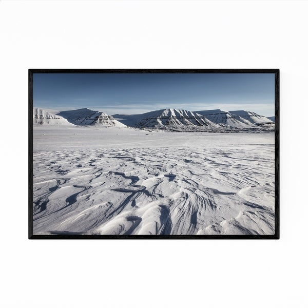 Noir Gallery Svalbard Norway Nature Photography Framed Art Print