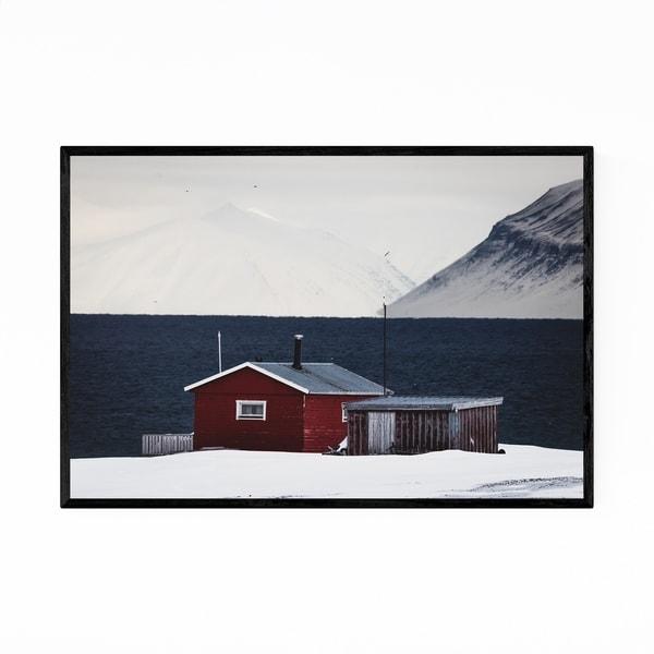 Noir Gallery Svalbard Norway Nature Photography Framed Art Print