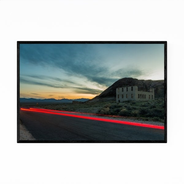 Noir Gallery Rhyolite Ghost Town Nevada Photo Framed Art Print