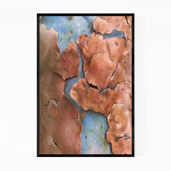 Noir Gallery Australian Eucalyptus Tree Nature Framed Art Print