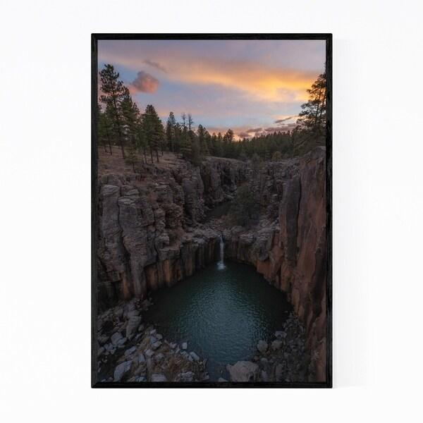 Noir Gallery Williams Arizona Sycamore Falls Framed Art Print