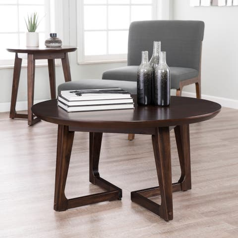 Holly & Martin Meckland Round Cocktail Table