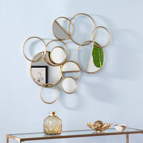 Carson Carrington Laggbyn Geometric Mirror Wall Sculpture