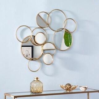 Harper Blvd Livvi Art Deco Brass Metal Wall Sculpture