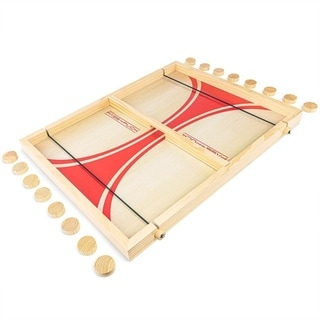 Link to GoSports Pass The Puck Game Set  Similar Items in Table Games