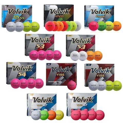 Volvik Golf Balls - Selet Your Style & Color - 1 Dozen