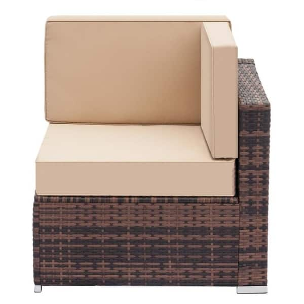 Patio Outdoor Furniture Low Back Rattan