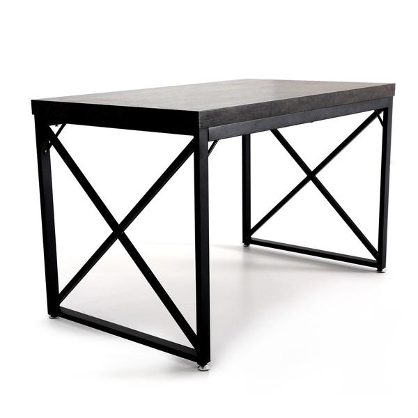 Mcombo Modern Gaming Desk Home Office Desk Industrial Work Desk
