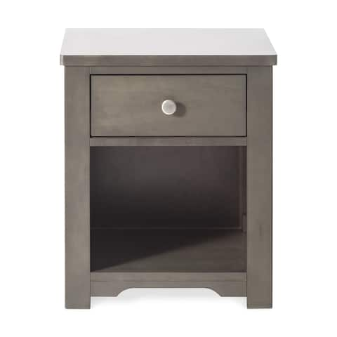 Forever Eclectic Harmony Night Stand Dapper Gray - N/A