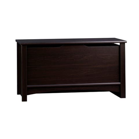Relaxed Traditional Storage Chest-Jamocha