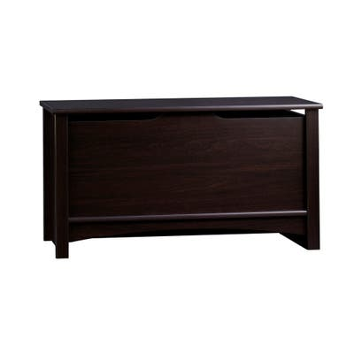 Relaxed Traditional Storage Toy Chest-Jamocha - N/A