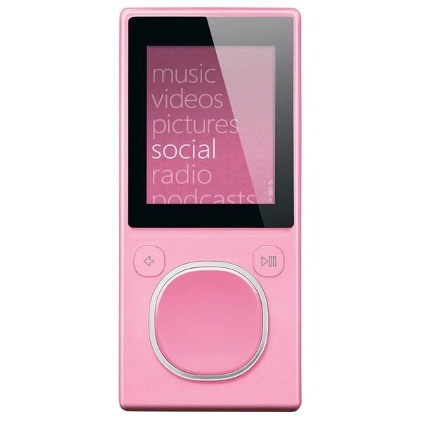 Microsoft Zune HSA-00005 4 GB Pink Flash Portable Media Player