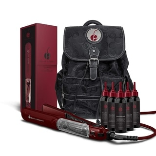 Cherry Professional Vapor 1.25-inch Flat Iron Hair Straightener