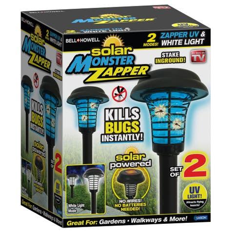 Bell + Howell Solar Monster Zapper Outdoor Pest Control