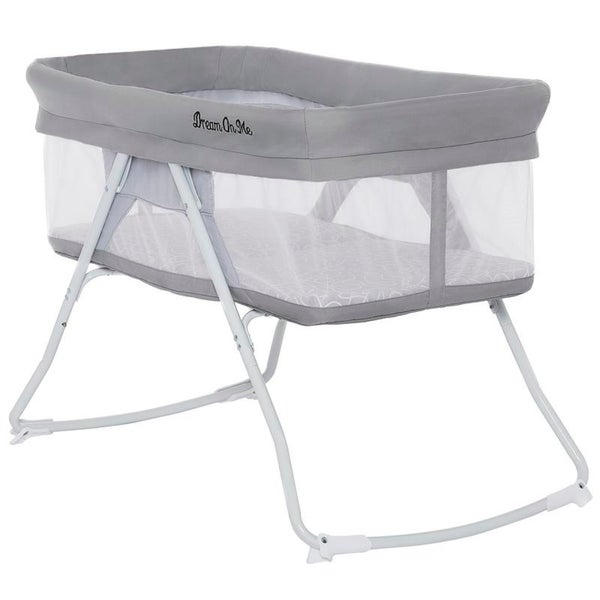 KidCO Dreampod Portable Bed Bassinet Sleeping Infant On the GO Gray
