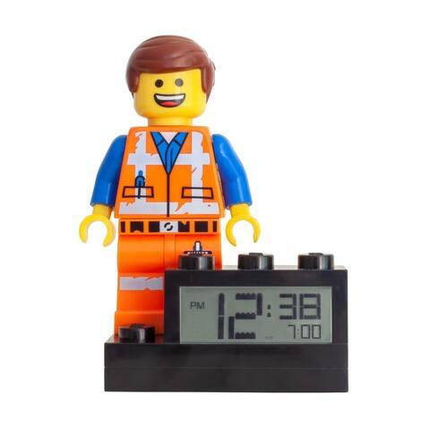 LEGO Movie 2 Light Up Minifigure Alarm Clock, Emmet