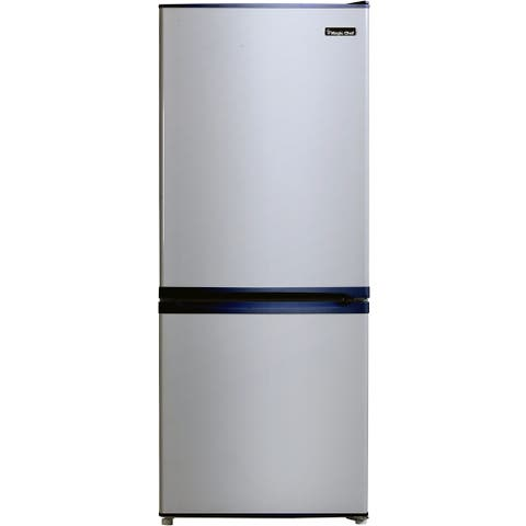 Magic Chef Energy Star 9.2-Cu. Ft. Refrigerator with Bottom-Mount Freezer with Stainless Steel Door