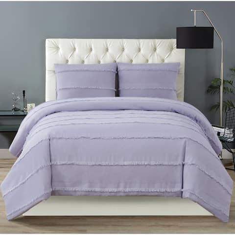 Christian Siriano NY® Kristen 3 Piece Duvet Cover Set