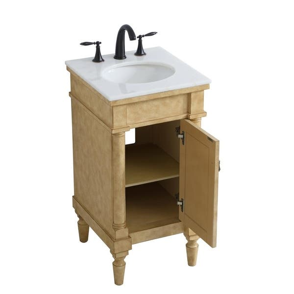 Bathroom Vanity In Antique Beige