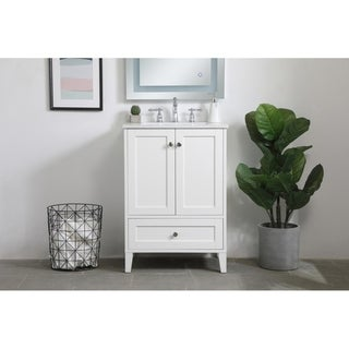 Copper Grove Peterborg 24-inch Single Bathroom Vanity