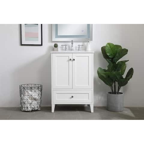 Copper Grove Peterborg 24-inch Single Bathroom Vanity