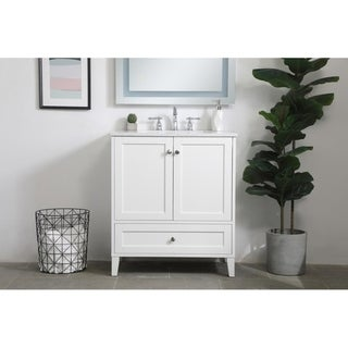 Carson Carrington Laduberg 30-inch Single Bathroom Vanity