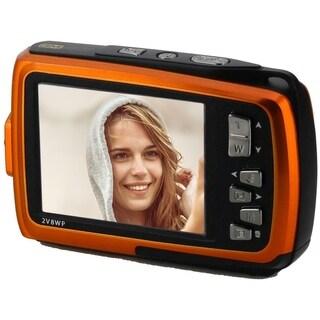 Coleman Duo2 Dual Screen Shock Waterproof Digital Camera, Orange 2V8WP-O
