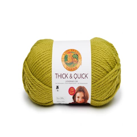 Lion Brand Yarn Thick & Quick Bonus Bundle Leaf 122-134 Single Skein Yarn