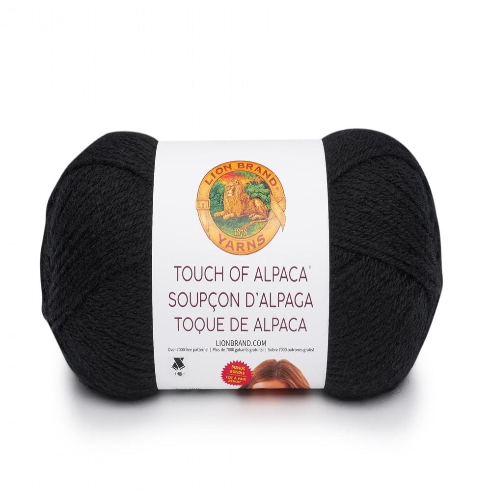 Lion Brand Yarn 124-150 Touch of Alpaca Bonus Bundle Yarn Oxford Grey