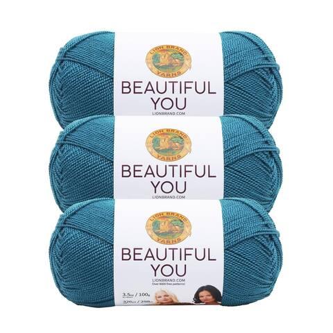 Lion Brand Yarn Beautiful You Capri 165-148 3 Pack Fashion Yarn