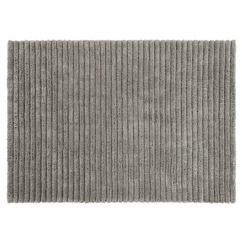 "Chesapeake Microfiber Polyester Shag Lavish Area Rug (5'x7') - 60""x84"""