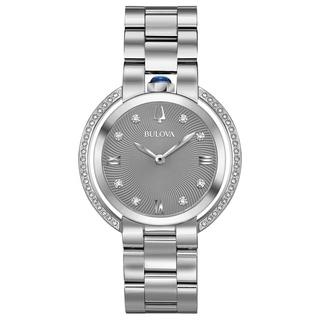 Link to Bulova Women's 96R219 Rubaiyat Diamond Accent Stainless Bracelet Watch - N/A Similar Items in Women's Watches