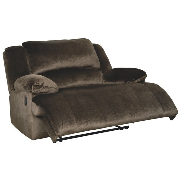 Clonmel Contemporary Zero Wall Wide Seat Recliner Chocolate