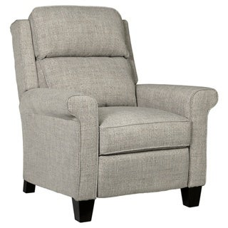 Evanside Contemporary Low Leg Power Recliner Gravel