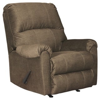 Urbino Contemporary Rocker Recliner Mocha