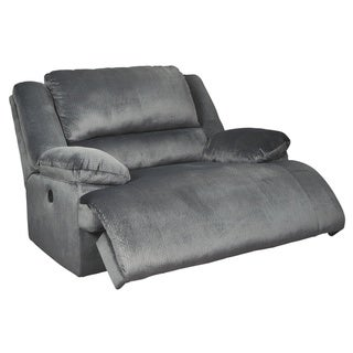 Clonmel Contemporary Zero Wall Power Wide Recliner Charcoal