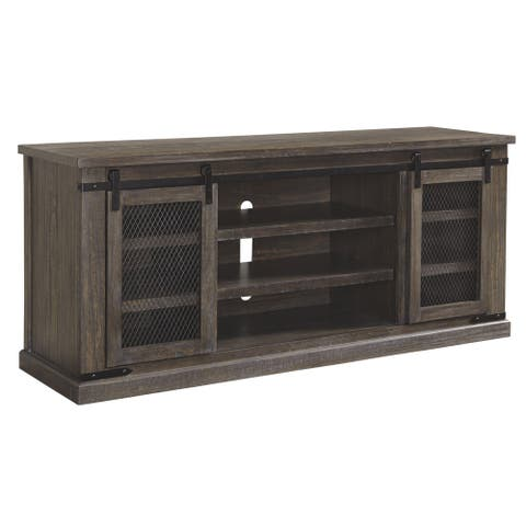 Danell Ridge Casual Extra Large TV Stand Brown